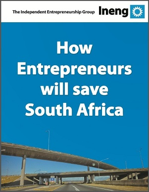 Cover of Ineng Event - How Entrepreneurs will save SA