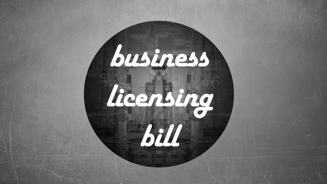 Business Licensing Bill logo