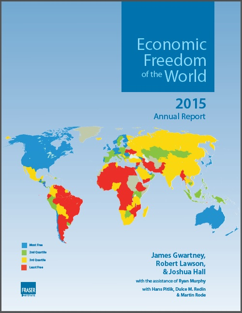 Economic Freedom of the World 2015 cover