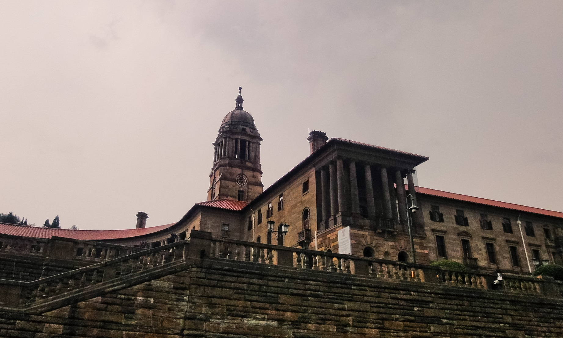 Union Buildings, Pretoria Threats facing South Africa