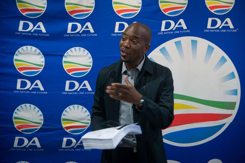 Mmusi Maimane of the Democratic Alliance (DA) in South Africa Threats facing South Africa