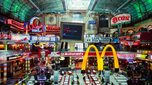 Canal Walk Mall - big business in South Africa