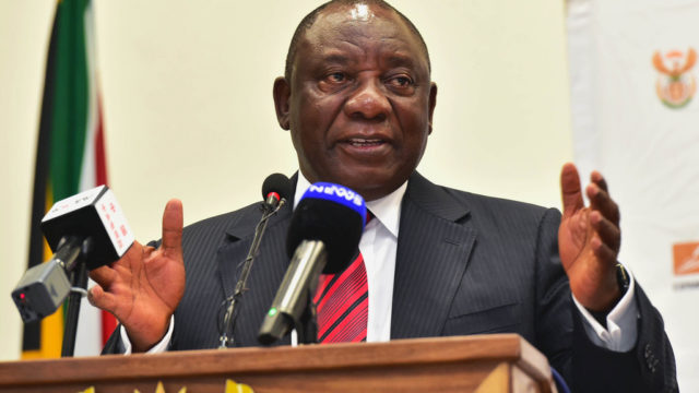 Expropriation without Compensation - Cyril Ramaphosa