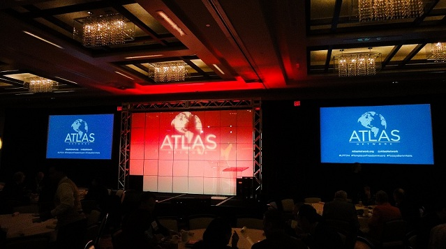 A photo of Atlas Network conference