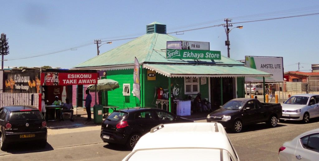 Small Businesses in Gugulethu - a photo