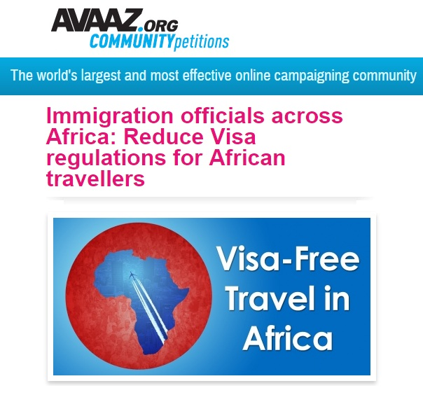 A petition for Visa-Free Travel in Africa
