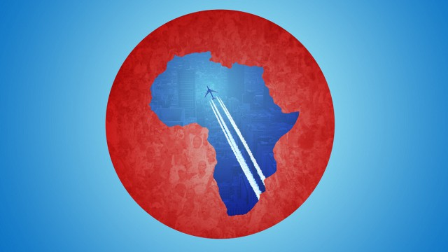 the logo Visa Free Travel in Africa - Ineng