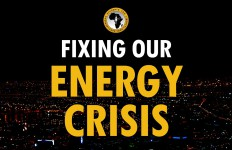 Fixing our Energy Crisis Event poster