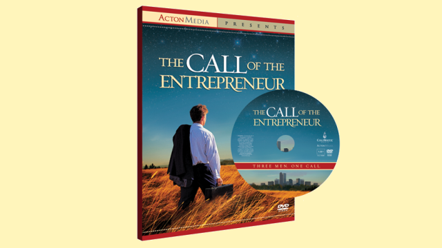 The Call of the Entrepreneur DVD cover