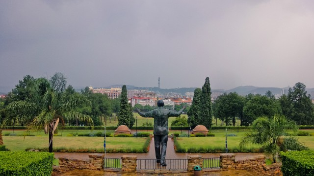 Nelson Mandela Union Buildings. the Future of South Africa