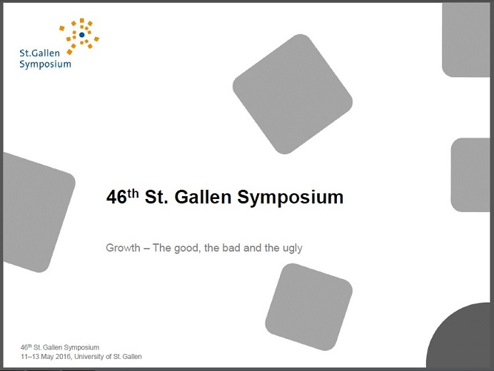St Gallen Symposium - PDF download