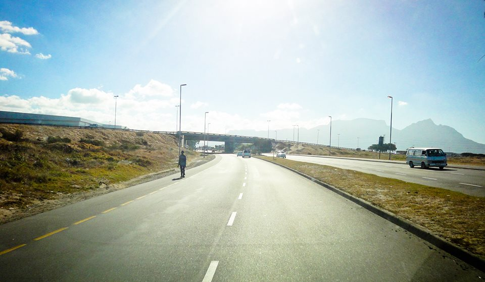 A road in Cape Town. the Future of South Africa
