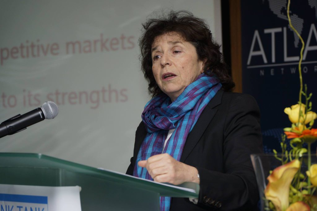 Ann Bernstein from the CDE speaking at the Africa Liberty Forum in Johannesburg