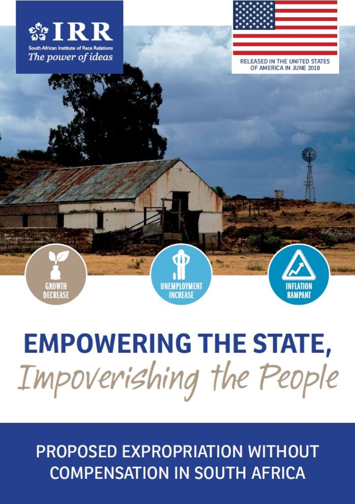 Empowering the State, Impoverishing the People report on EWC (Expropriation without Compensation)