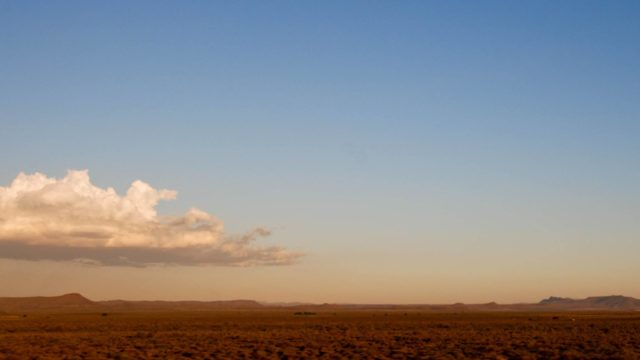 Land Reform in South Africa. A photo of rural land in South Africa