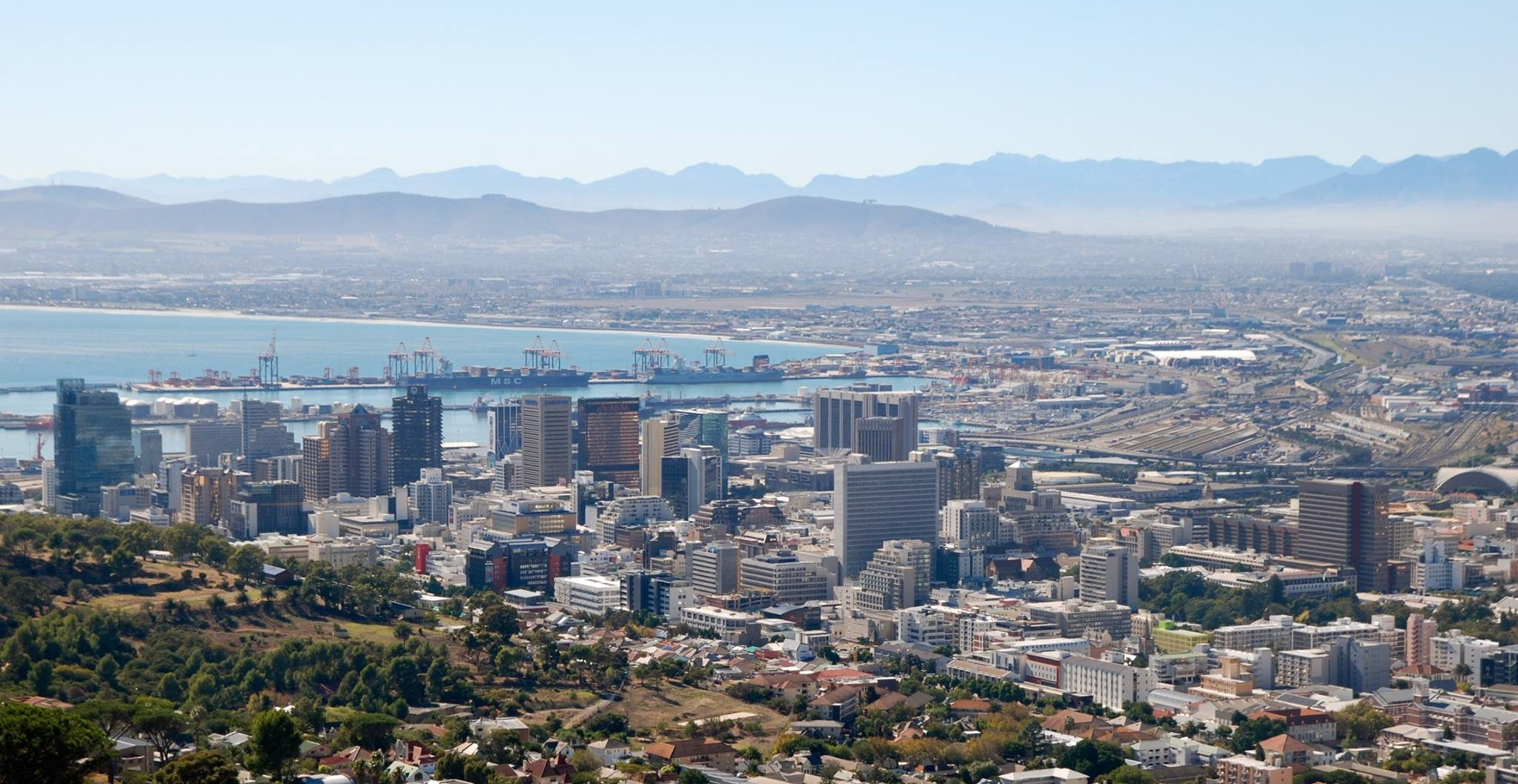 Cape Town South Africa. Western Cape Independence