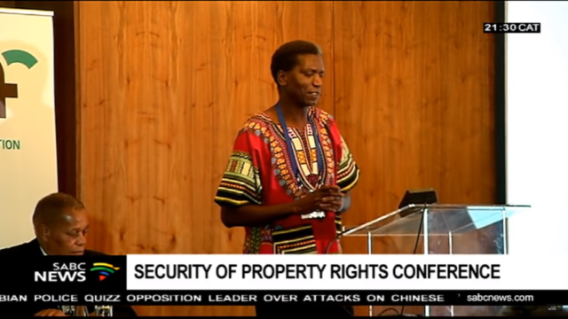 Security of Property Rights in South Africa Conference