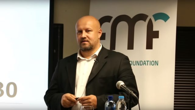 Frans Cronje talks about what South Africa will be like in 2030 in Johannesburg